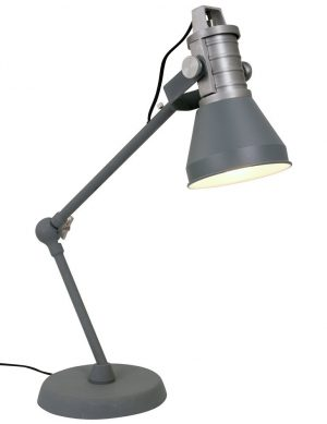 lampe a poser grise
