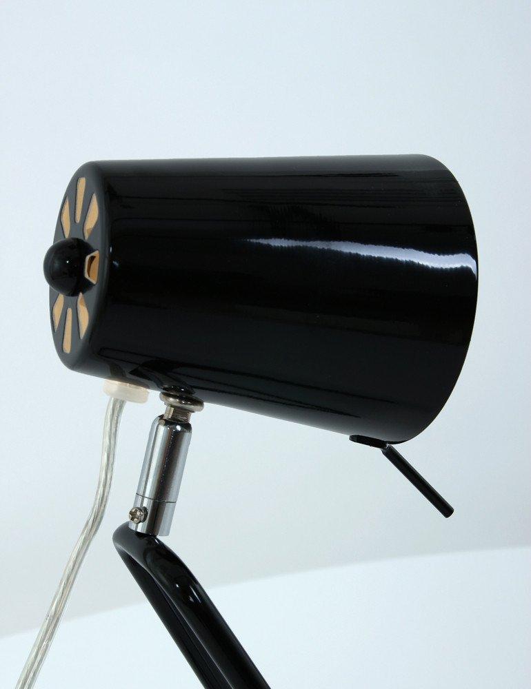 Lampe a poser noire leitmotiv 39 z 39 39 moderne industriel lampesenligne - Lampe a poser noire ...