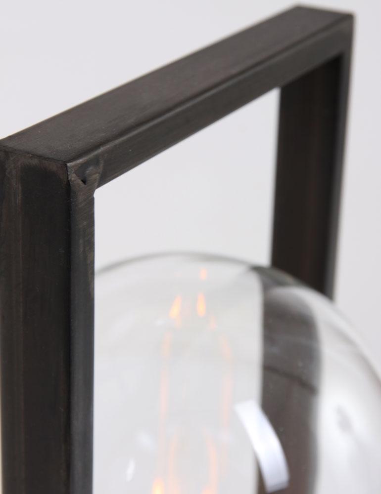 lampe poser noire light living jurre. Black Bedroom Furniture Sets. Home Design Ideas