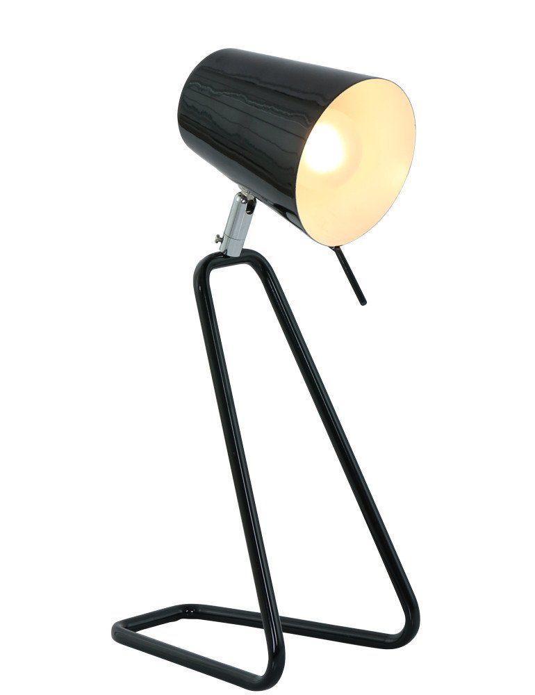 lampe a poser noire leitmotiv 39 z 39 39 moderne industriel lampesenligne. Black Bedroom Furniture Sets. Home Design Ideas