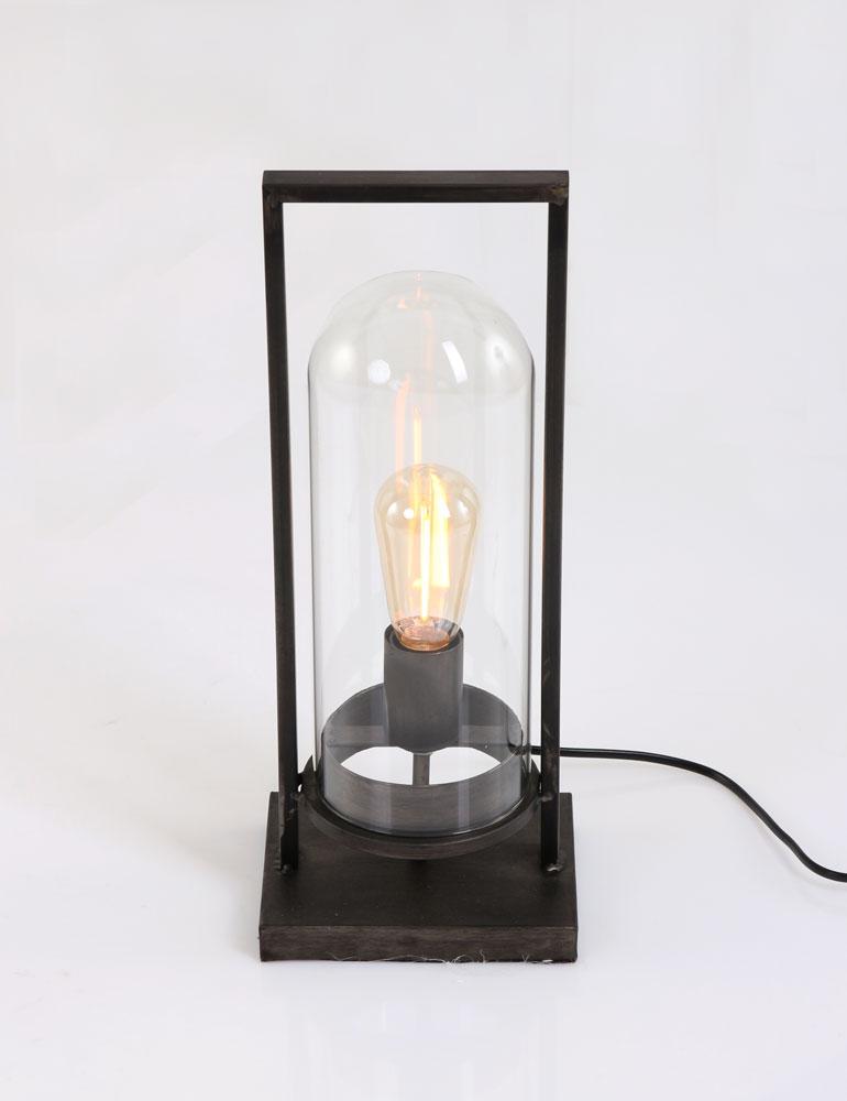 Lampe A Poser Noire : lampe poser noire light living jurre ~ Teatrodelosmanantiales.com Idées de Décoration