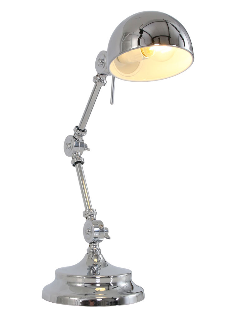 Lampe a poser style industriel light living willmore - Lampe style industriel throat ...