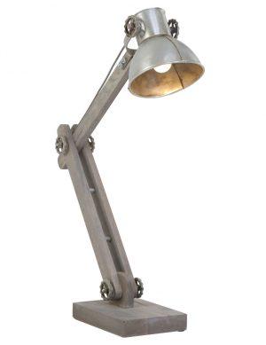lampe argentée