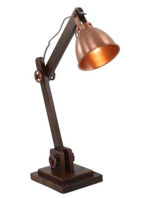 lampe bureau cuivre