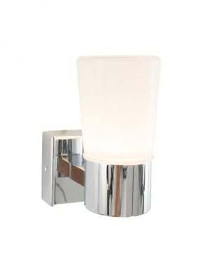 lampe chrome design