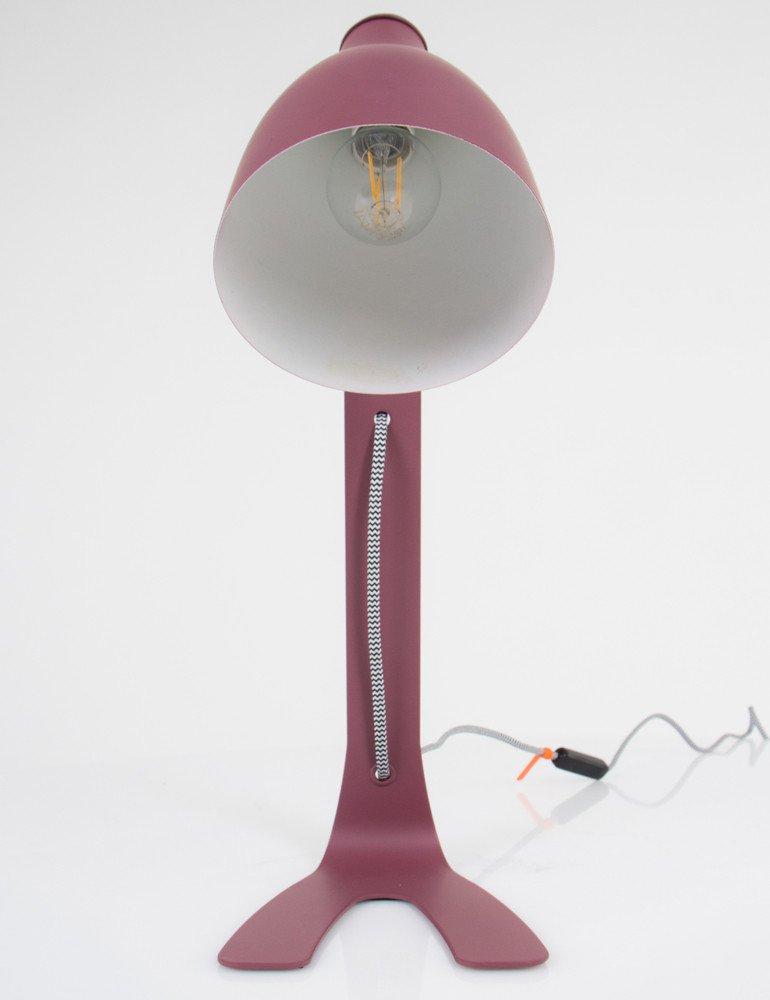 lampe poser rose balais. Black Bedroom Furniture Sets. Home Design Ideas