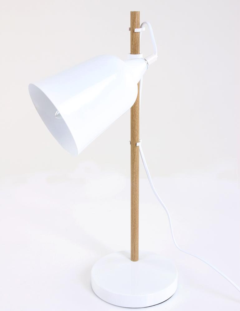Lampe de bureau scandinave leitmotiv wood - Lampe de bureau scandinave ...