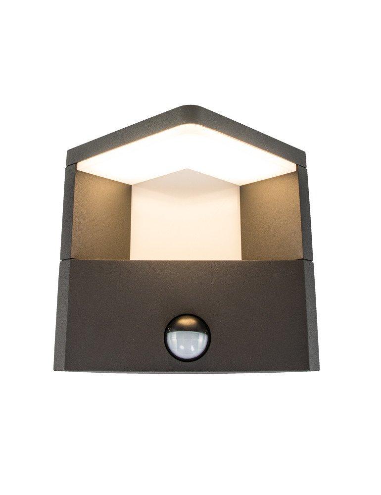 lampe exterieur led avec detecteur trio ganges. Black Bedroom Furniture Sets. Home Design Ideas