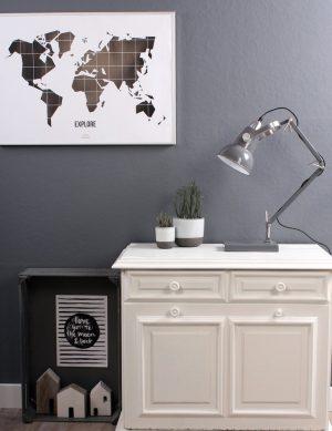 lampe industrielle de bureau