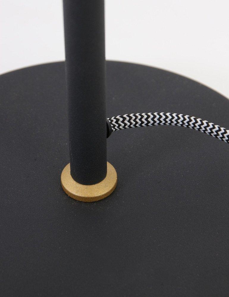 lampe m tal noir lumidem nov. Black Bedroom Furniture Sets. Home Design Ideas