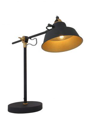 lampe métal noir