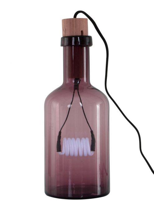 lampe neon rose