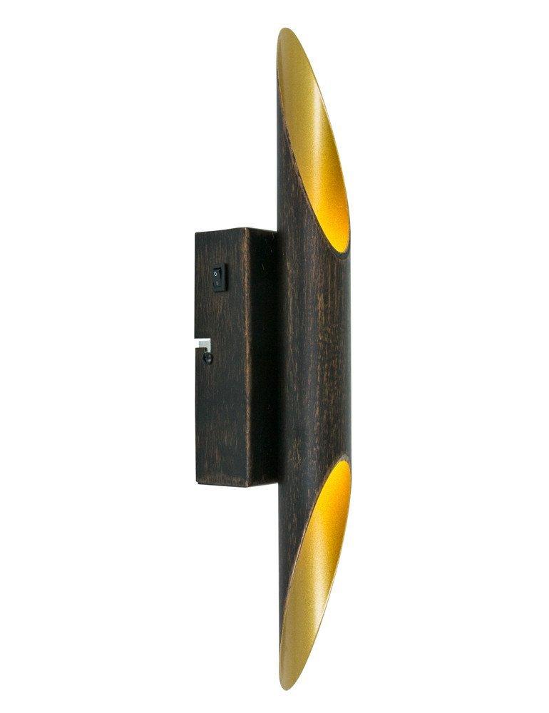 lampe noir et or trio leuchten bolero. Black Bedroom Furniture Sets. Home Design Ideas