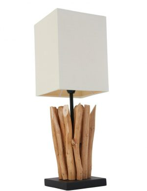 lampe originale bois