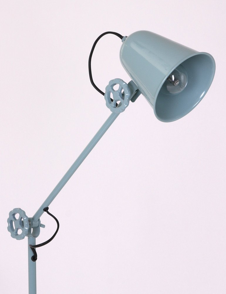 lampe sur pied metal anne dolphin. Black Bedroom Furniture Sets. Home Design Ideas