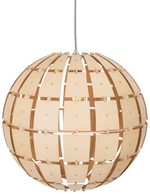 lampe suspendue bois