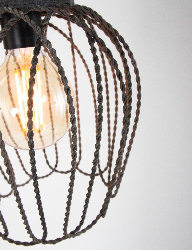 lampe suspendue industrielle light living bettina. Black Bedroom Furniture Sets. Home Design Ideas