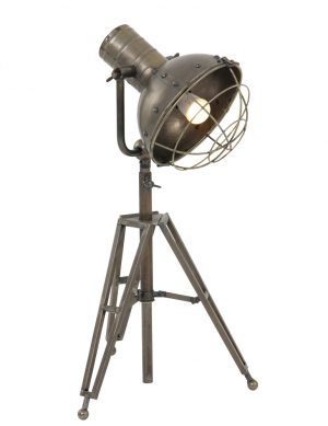 lampe trepied industriel
