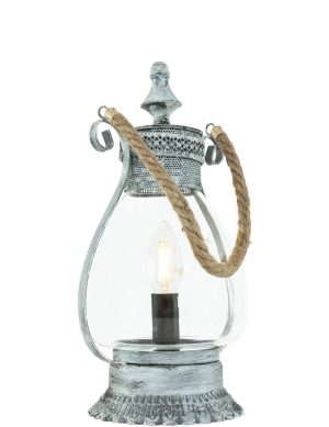 lanterne orientale argenté