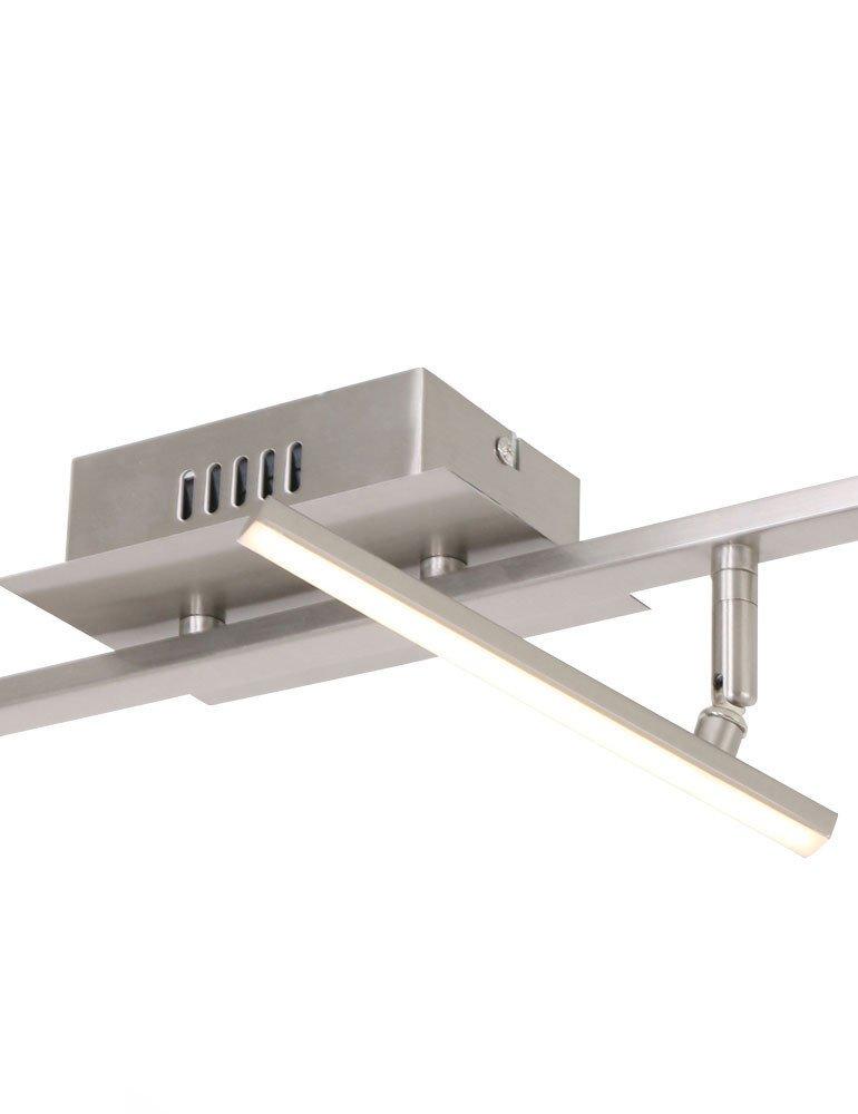 plafonnier 2 spots led steinhauer tekken. Black Bedroom Furniture Sets. Home Design Ideas