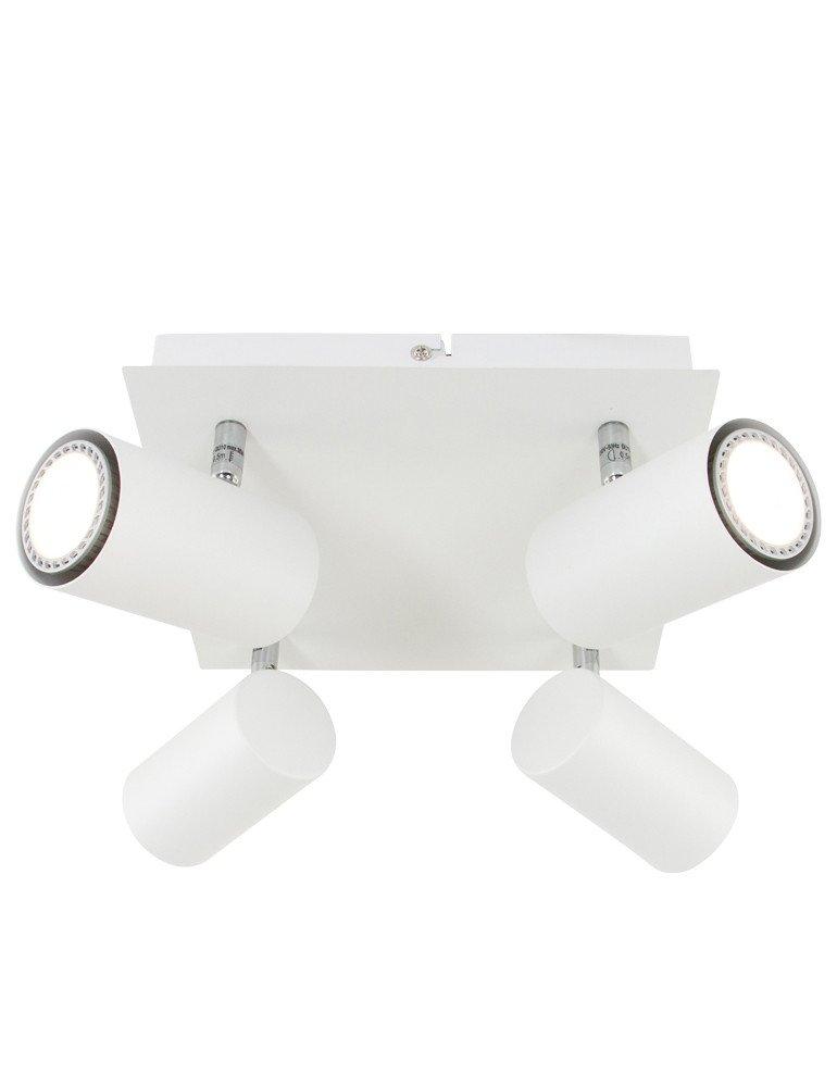 plafonnier 4 spots orientables trioleuchten serie 8024. Black Bedroom Furniture Sets. Home Design Ideas