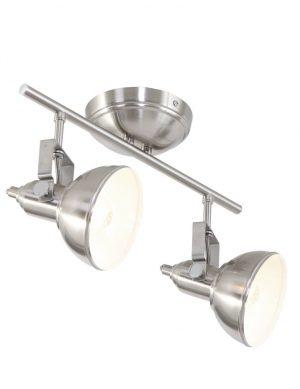 plafonnier acier