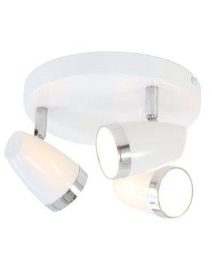 plafonnier design blanc