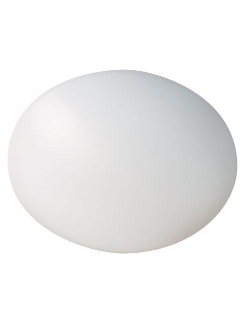plafonnier rond blanc