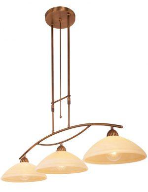 suspension 3 lampes pour cuisine