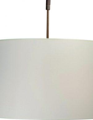 suspension blanche et bois