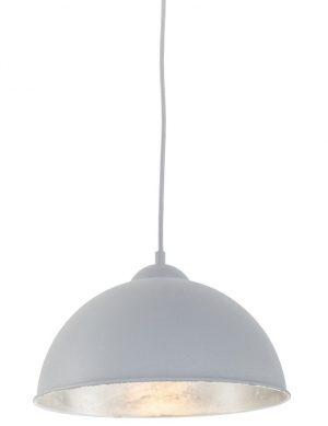 suspension boule grise