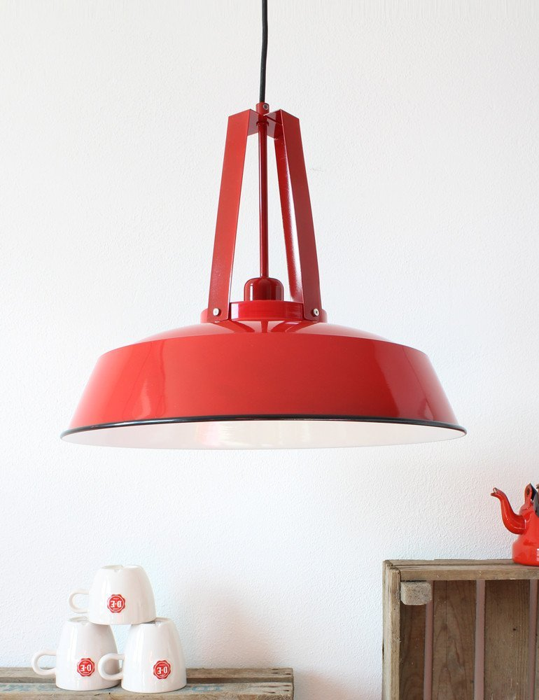 suspension cuisine rouge lumidem eden couleur unique. Black Bedroom Furniture Sets. Home Design Ideas