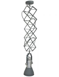 suspension gris anthracite