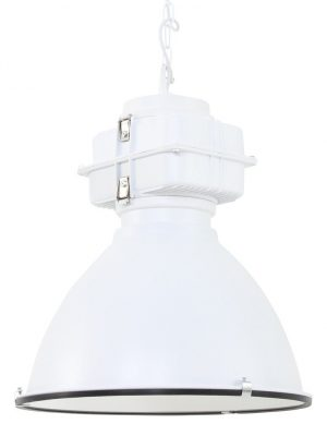suspension industrielle blanche