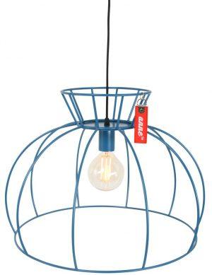 suspension luminaire bleu