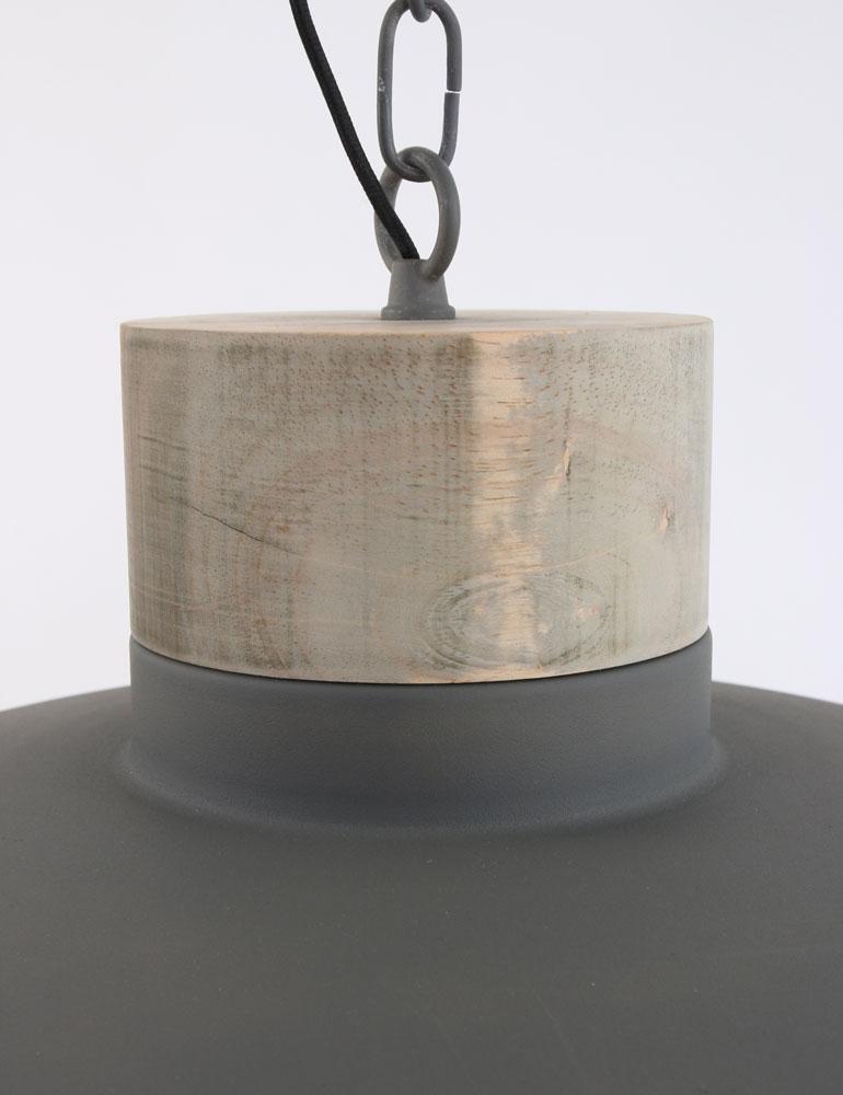 suspension metal et bois bronq metta. Black Bedroom Furniture Sets. Home Design Ideas