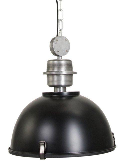 suspension metal noire
