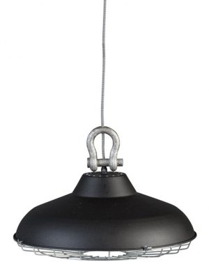 suspension noire industrielle