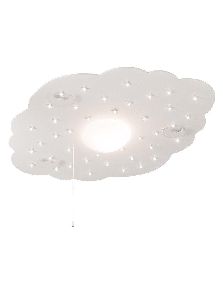 suspension nuage chambre b b steinhauer kids illuminez la vie de b b. Black Bedroom Furniture Sets. Home Design Ideas