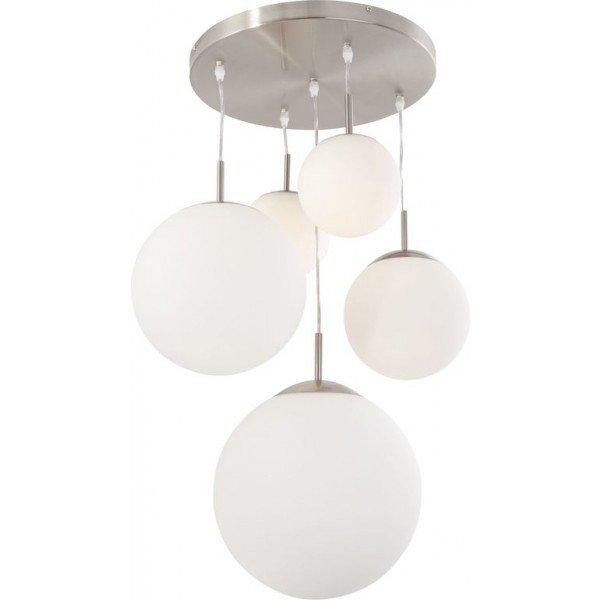 suspension plusieurs boules steinhauer bollique le must have. Black Bedroom Furniture Sets. Home Design Ideas