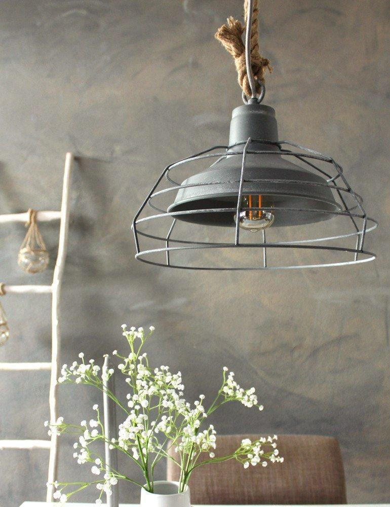 suspension rustique luminaire lumidem dina industriel design. Black Bedroom Furniture Sets. Home Design Ideas