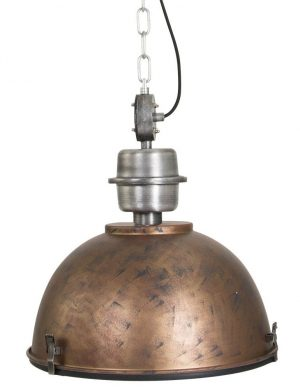 suspension vintage industrielle
