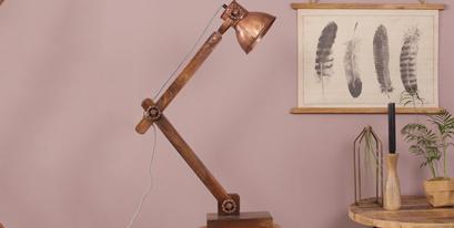 Lampes bois