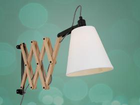 wandlamp-hout