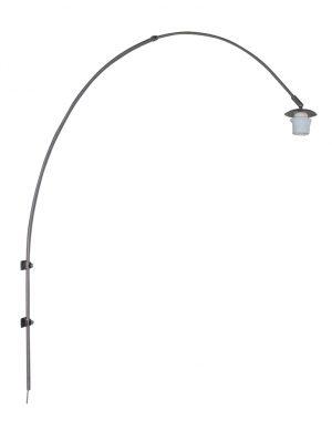 1481ST-Lampe arc murale en acier