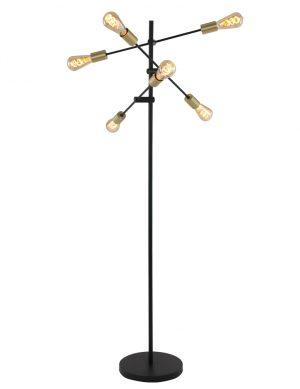 1638ZW-lampadaire industriel 6 lumières