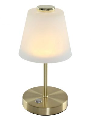 1650ME-Lampe de table classique or