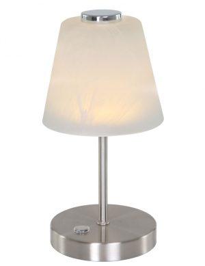 1650ST-Lampe de table classique argent