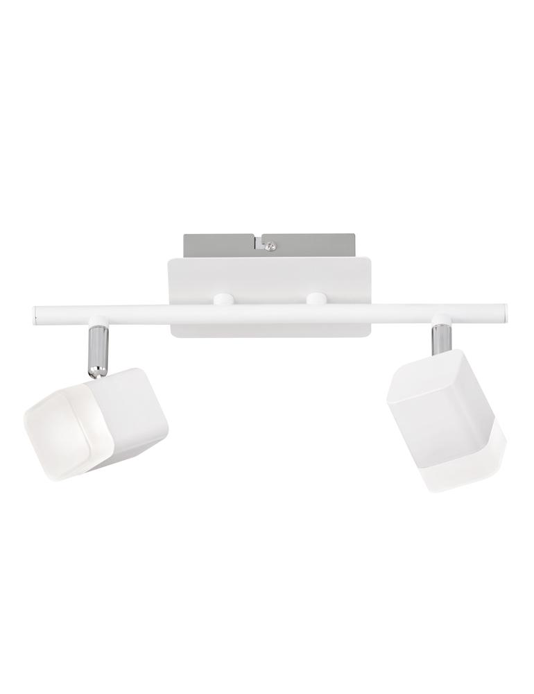 spot de plafond blanc trio leuchten roubaix. Black Bedroom Furniture Sets. Home Design Ideas