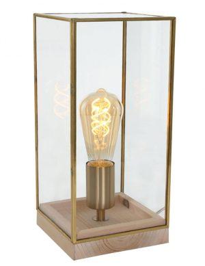 1684ME-lampe à dôme carré